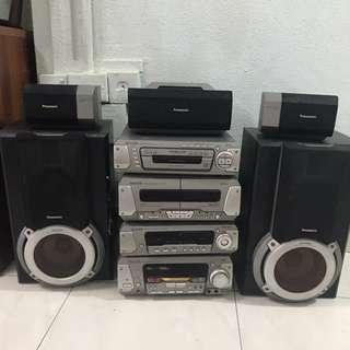 Panasonic HiFi set