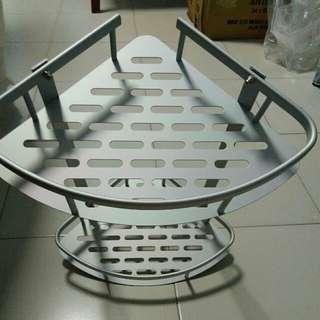2 tier corner rack