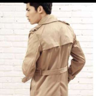 BN beigh men trench coat