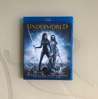 Underworld Rise Of The Lycans Blu ray