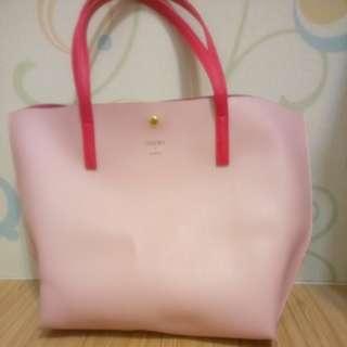 粉紅 Colors by jennifer sky 日牌包包#舊愛換新歡