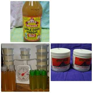Indian Healing Clay & Apple Cider Vinegar