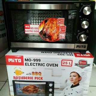 Oven listrik mito 25 lt, electric oven mito MO-999