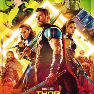 Thor movie tix@JCube tonight. Urgent Sale