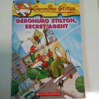 Geronimo Stilton- GERONIMO STILTON, SECRET AGENT