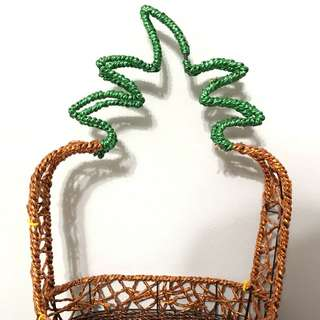 Pineapple basket for theme party