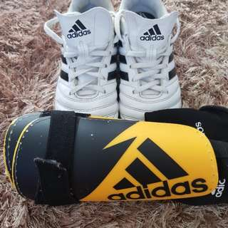 Adidas boots & guards