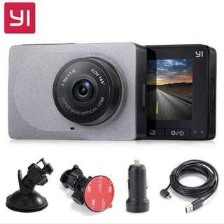 Original Xiaomi YI Smart Car DVR Wifi ADAS Camera 165 degree
