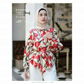 Kencana top mayoutfit
