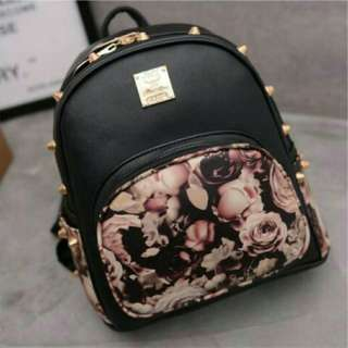 KOREAN FLORAL BAGPACK