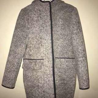 Boo Hoo coat (mid thigh length)