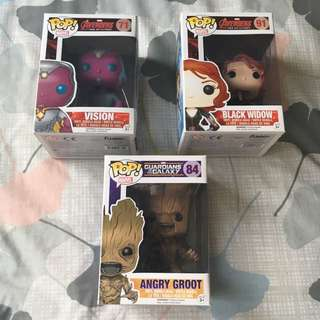 Marvel Pop Vinyls