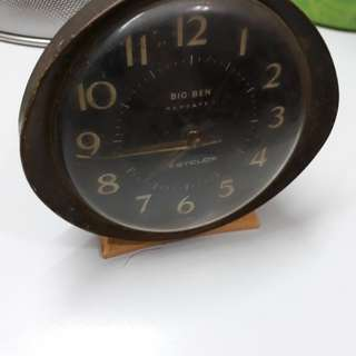 Made in Scotland table clock 1960's