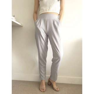 Dove Slim Fit Trousers