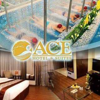 2D1N Accommodation at Ace Hotel and Suites