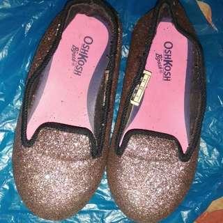 Oshkosh Bgosh Glitter Flat Shoes Anak