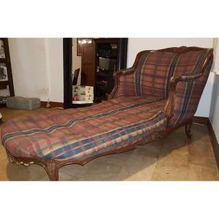 Vintage French Lounge Chair