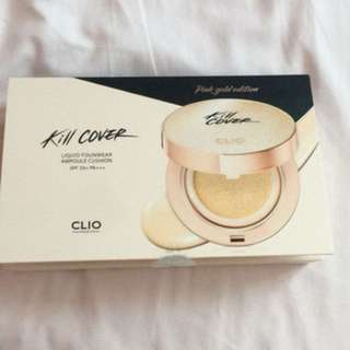 Kill Cover Liquid Fouwear Ampoule Cushion 02 SPF50+ PA+++ Pink Gold Edition.