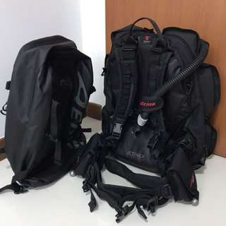 Aeris Jet Pack Scuba Travel BCD
