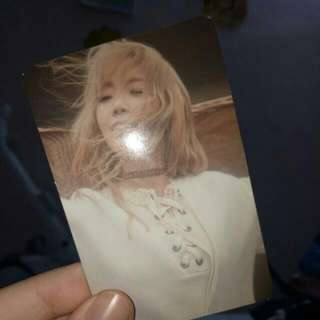 Taeyeon Album 'I'OFFICIAL photocard