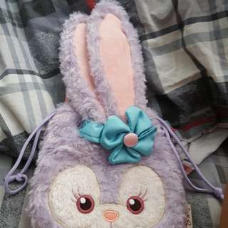 Duffy朋友stella芭蕾舞兔索袋