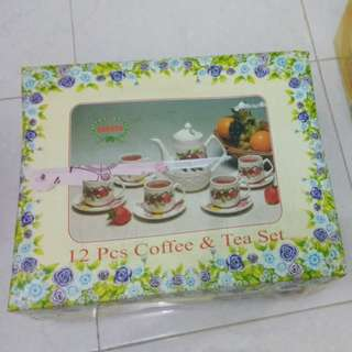Nakato tea set 12pcs
