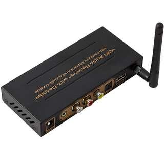 WiFi Audio Receiver with Deocder - WiFi無線音頻接收解碼器 - S06177