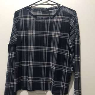 Glassons mesh top size L WORN ONCE