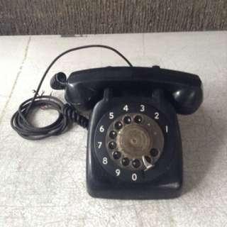 Black Rotary Phone Repriced