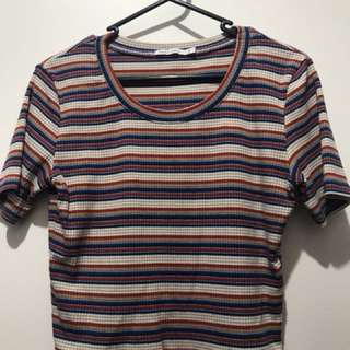 Universal cropped tee size 12
