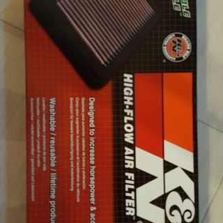 Suzuki SX4 K&N air filter