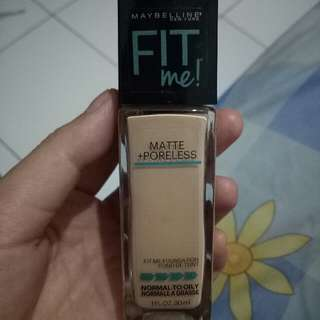 Foundation Maybelline Fit Me!