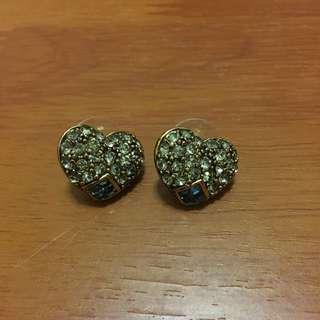 🚚 COR-DATE 復古心型耳環