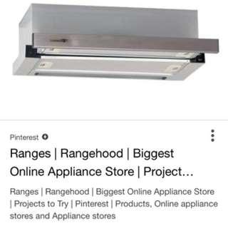 Looking for: Used telescopic rangehood 60cm