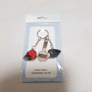 NS 50 Home Team key chain collectibles ($4 for 2 pieces)