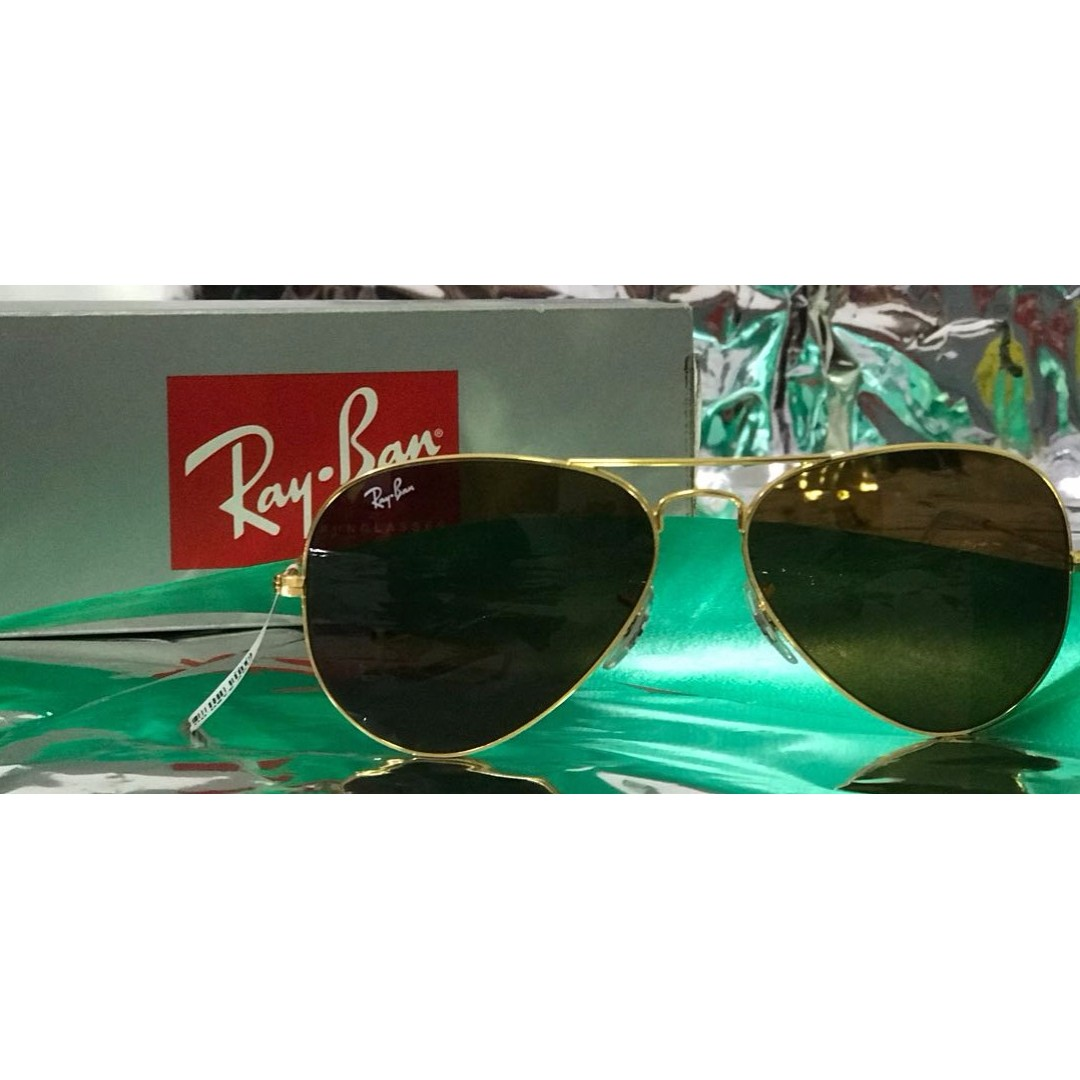 2e22abedb5846 20% off on Ray- Ban - RB3025 L9797 Medium (Size 58) Golden Brown ...