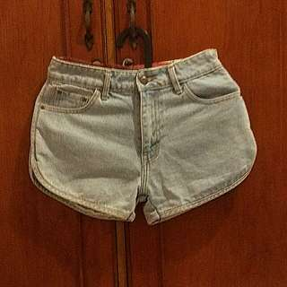 Highwaist Shorts Denim BKK