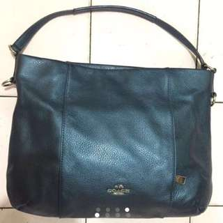 New Coach (Isabelle Pebble)leather Bag