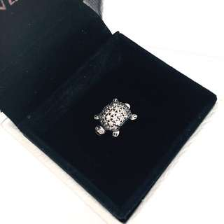 RRP $69! As New Genuine Pandora Charm *Sparkling Turtle*