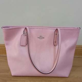 AUTHENTIC COACH REPRICED all pink soulder bag / hand / sling with tag 😍🌸👜💯