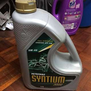 Petronas Syntium 3000 Fully Synthetic Engine oil ( Thai Spec)