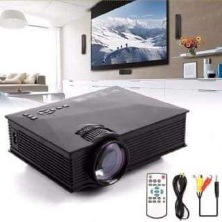 Welink Mini Projector UC46 Portable Multimedia Home Cinema Theater 1200 Lumens LED Projection