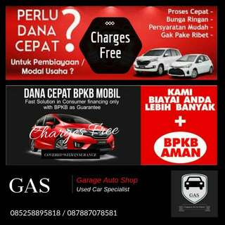 Dana Tunai Jaminan BPKB - Charges Free