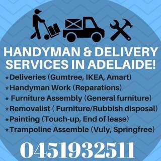 UTE PICKUP AND DELIVERY 24/7 ADELAIDE WIDE