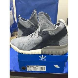 Adidas Originals Tubular X Knit 'Sesame' 愛迪達 三葉草 限量休閒鞋 灰色