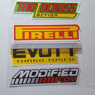 Part 7 - Motorcycle Bike Car Reflective Sticker Stickers