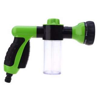 AUTO CAR FOAM WATER GUN HIGH PRESSURE GARDEN WASHING NOZZLE SPRAY