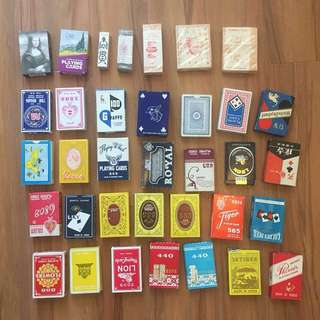 [New] 舊啤牌(每件$30) Vintage playing card ($30 each)