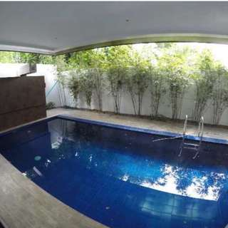 with SWIMMING POOL Quezon City AYALA HEIGHTS CAPITOL HILLS House and Lot For Sale