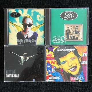 Various CD Singles. Ash, Portishead and Blackgrape